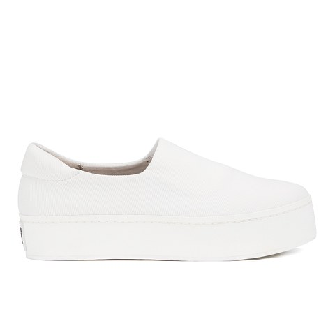 Opening Ceremony Women's Slip On Platform Sneakers - White