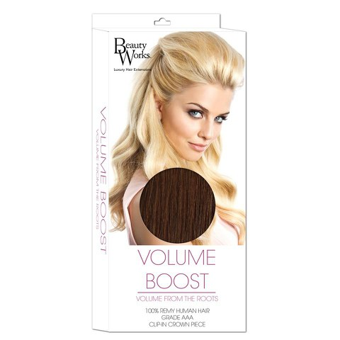 Beauty Works Volume Boost Hair Extensions - 4 Hot Toffee