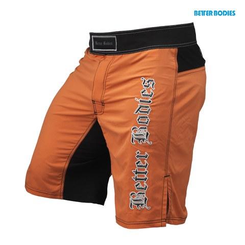 Better Bodies Flex Board Shorts - Orange/Black