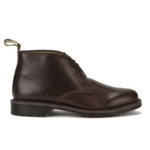 Dr. Martens Men's Oscar Sawyer New Nova Leather Desert Boots - Dark Brown