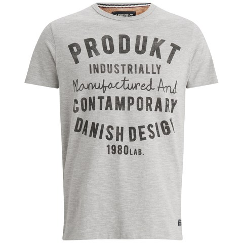 Produkt Men's GMS 21 Crew Neck T-Shirt - Light Grey Melange