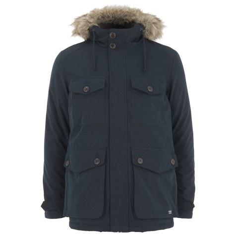 Produkt Men's BPR C1 Parka Jacket - Black Navy