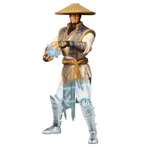 Mortal Kombat X Raiden Displacer Variant Previews Exclusive 6 Inch Action Figure
