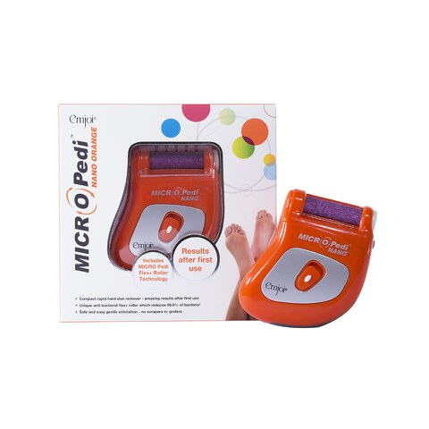 Micro-Pedi NANO outil de pédicure - Orange