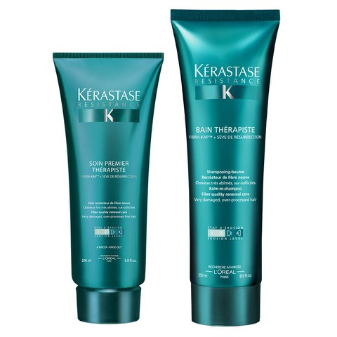 Kérastase Resistance Therapiste Bain (250ml) and Conditioner (200ml)