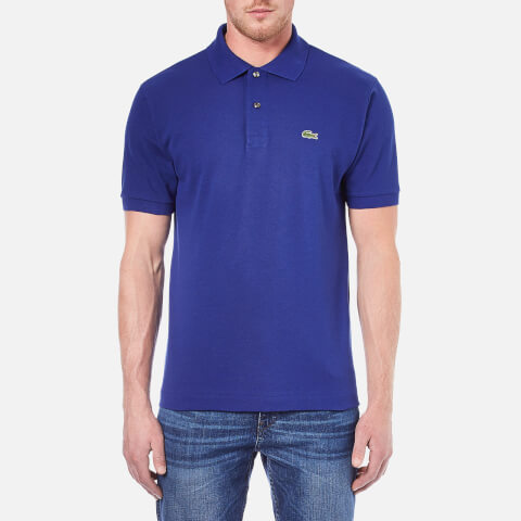 Lacoste Men's Short Sleeve Polo Shirt - Ocean