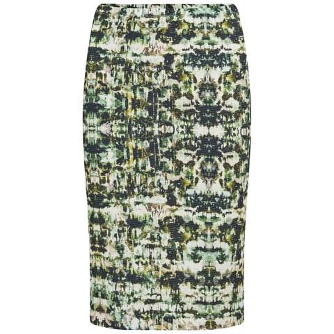 Great Plains Women's Emerald City Pencil Skirt - Rebel Green