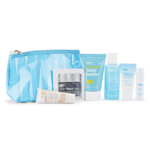 bliss Travel Essential Kit (Worth: £37.00)