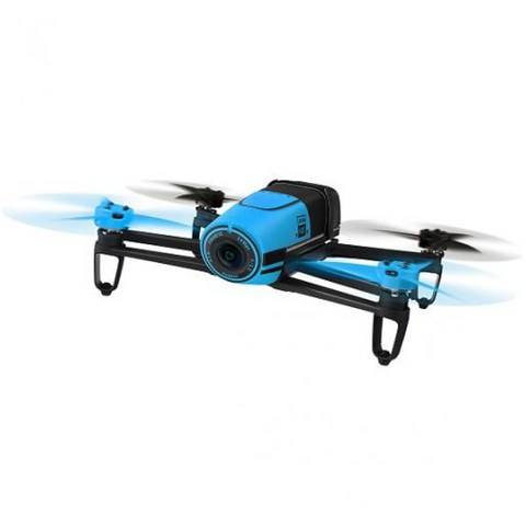 Parrot Bebop Drone (Embedded GPS, 14MP Camera, 1080p HD Camcorder, 8GB Flash Storage) - Blue