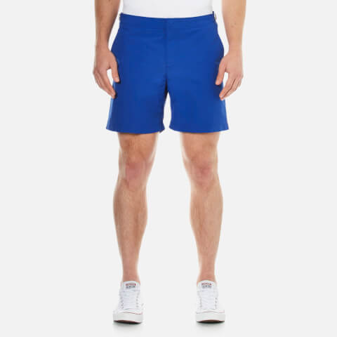 Orlebar Brown Men's Mid Length Bulldog Swim Shorts - Cobalt