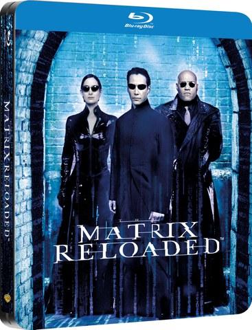 The Matrix Reloaded - Steelbook Exclusivo en Zavvi