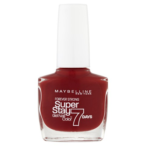 Maybelline Forever Strong Nail Varnish - Deep Red