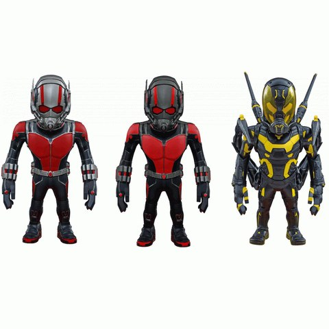 Ant-Man Artist Mix Wackelkopf-Figuren Deluxe Set