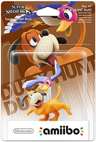 amiibo Smash Duck Hunt Duo