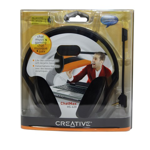 Creative ChatMax HS-620 VoIP Headset - Black