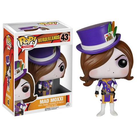 Borderlands Mad Moxxi Pop! Vinyl Figure