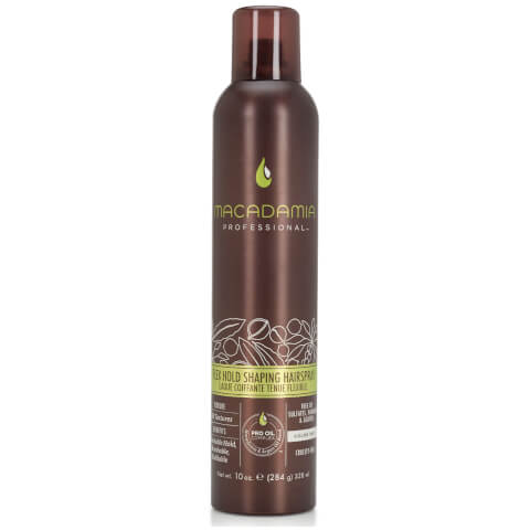 Macadamia Flex Hold Shaping Hairspray 10 (328ml)