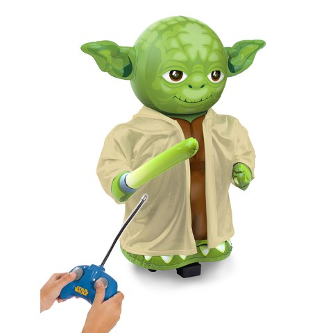 Bladez Toys Star Wars Jumbo Inflatable Yoda with Sounds
