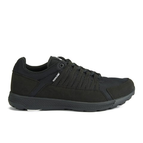 Supra Men's Owen Low Top Trainers - Black/Black