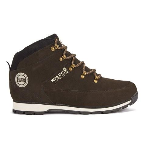 Henleys Men's Hiker Boots - Brown