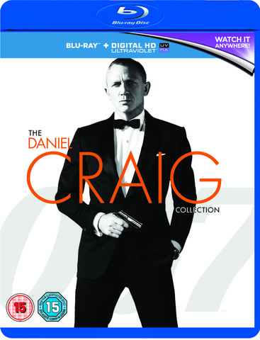 Daniel Craig 007 Triple Pack - Casino Royale / Quantum of Solace / Skyfall (Includes HD UltraViolet Copy)