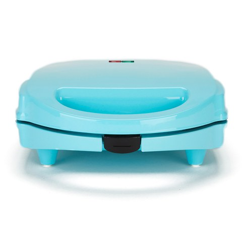 Gourmet Gadgetry Vintage Tea Party Mini Toasted Sandwich Maker - Blue