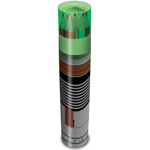 Star Wars Lightsaber Pencil set