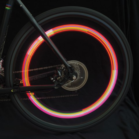 Bikelites Colour-Change Valve Lites