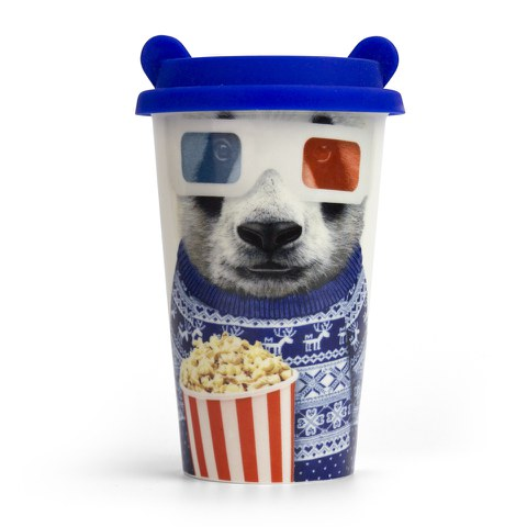 Coffee Crew Ceramic Cup - Panda
