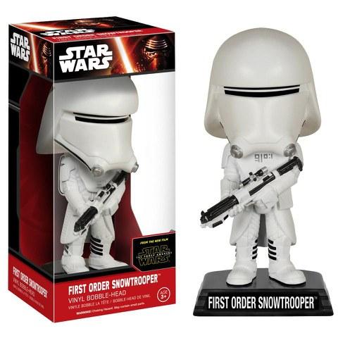 Star Wars Episode VII Wacky Wobbler Wackelkopf-Figur First Order Snowtrooper