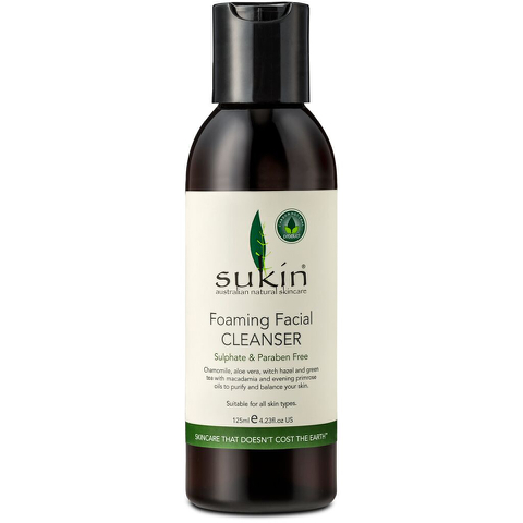 Sukin Foaming Facial Cleanser (Cap) 125ml