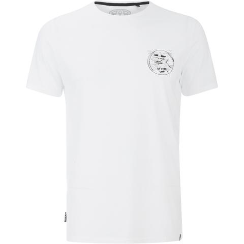 Animal Men's Mexican Back Print T-Shirt - White