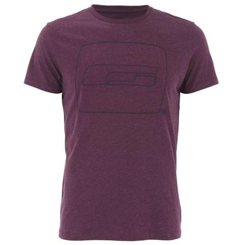 Jack & Jones Men's Core Logo T-Shirt - Fig Melange