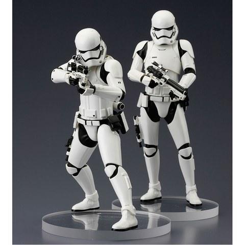 Kotobukiya Star Wars: The Force Awakens First Order Stormtrooper ArtFX+ 2-Pack Statue