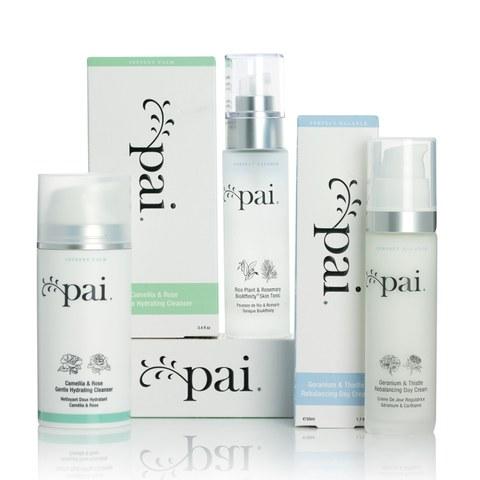 Pai Skincare Perfect Balance Moisturiser, Toner and Cleanser Kit
