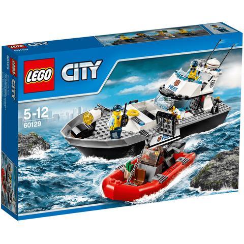 LEGO City: Barco patrulla de la policía (60129)