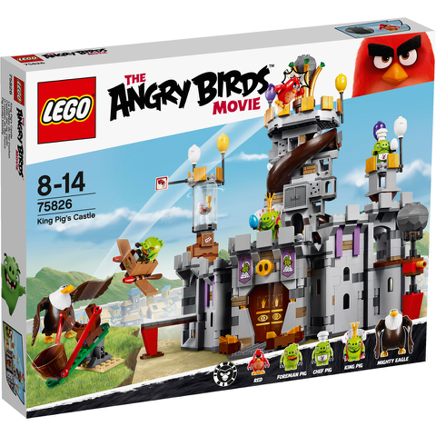 LEGO Angry Birds: King Pig's Castle (75826)