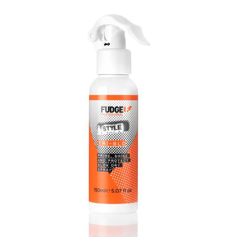 Fudge Tri-Blo Prime Shine and Protect Blow-Dry Spray (150ml)