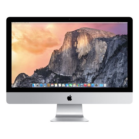 Apple iMac with Retina 5K display MK472B/A All-in-One Desktop Computer, 3.2GHz Quad-core Intel Core i5, 8GB RAM, 1TB Fusion Drive, 27