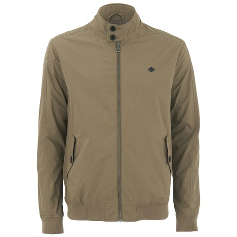 Threadbare Men's Dibble Harrington Jacket - Stone
