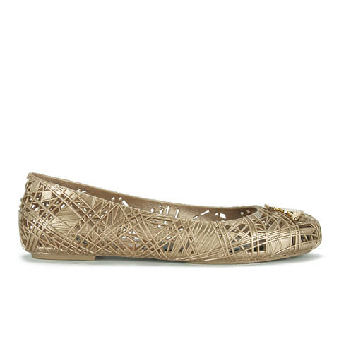 Vivienne Westwood for Melissa Women's Scribble Ballet Flats - Gold