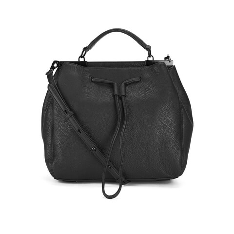 Rebecca Minkoff Women's India Drawstring Bag - Black