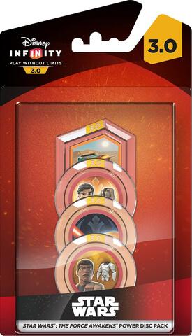 Disney Infinity 3.0: Star Wars Force Awakens Power Disc Pack