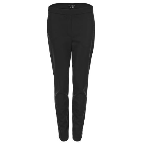 Theory Women's Thaniel FLK Jersey Flannel Trousers - Black