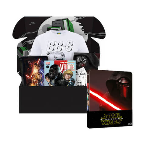 The Force ZBOX & Star War Force Awakens Zavvi Exclusive Limited Steelbook