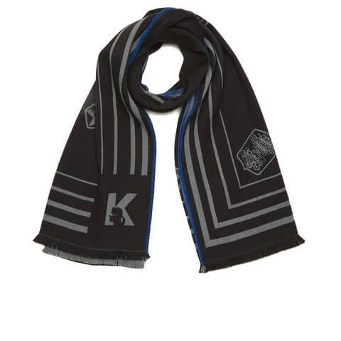 Karl Lagerfeld Women's Travel Blanket Scarf - Black