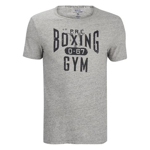 Polo Ralph Lauren Men's Printed Crew Neck T-Shirt - Grey