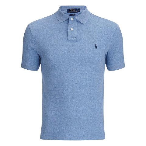 Polo Ralph Lauren Men's Short Sleeve Slim Fit Polo Shirt - Jamaica Heather