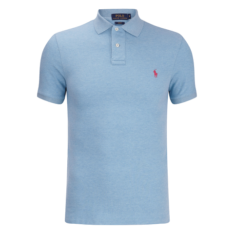 Polo Ralph Lauren Men's Short Sleeve Slim Fit Polo Shirt - French Turquiose