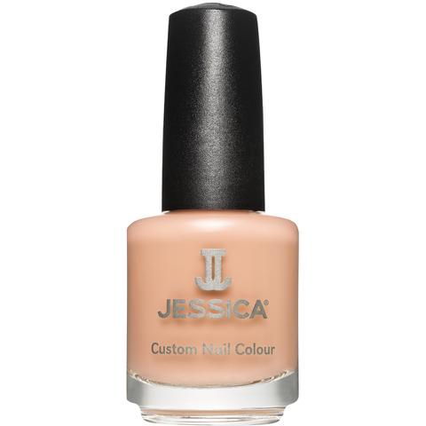 Jessica Nails Cosmetics Custom Colour Nail Varnish - Creamy Caramel (14.8ml)